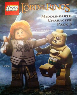 Lego lord of the rings dlc rings